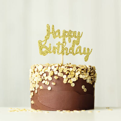 A birthday cake is a special dessert eaten as part of a birthday celebration.