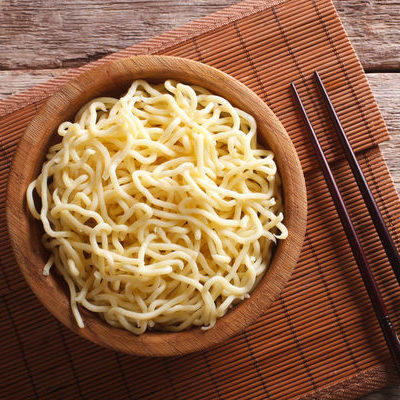 Asian noodles can be made from wheat or other grains.