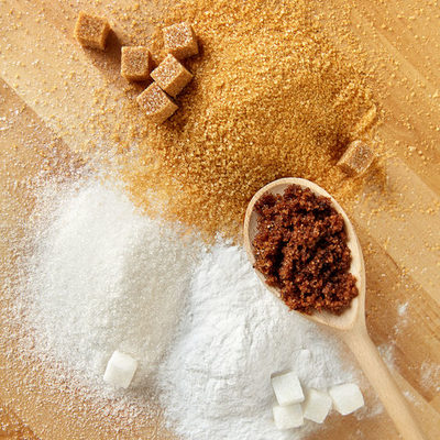 Sugar is naturally produced in plants during photosynthesis. It is the basic unit of carbohydrates.