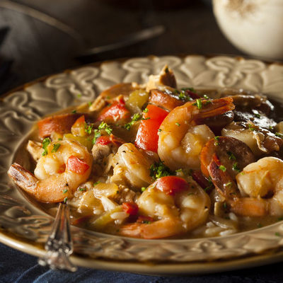 Gumbo is a nutritious and spicy soup common in the states located in the Gulf of Mexico, United States.