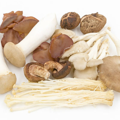 Mushrooms are the edible fruit parts of several species of macrofungi.