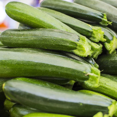 Zucchini is a type of summer squash, used frequently in stir-fried dishes.