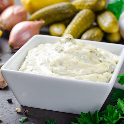 Aioli is a sauce made from garlic, salt, and olive oil.