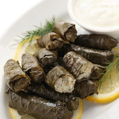A traditionally Greek dish, dolmades refers to a number of different stuffed appetizer dishes.