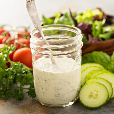 Ranch dressing is a salad dressing that is popular in the US and is ubiquitous in homes, restaurants, and salad bars.