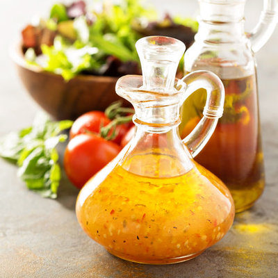 Vinegar is a liquid solution of water and acetic acid, made using a two-step fermentation process