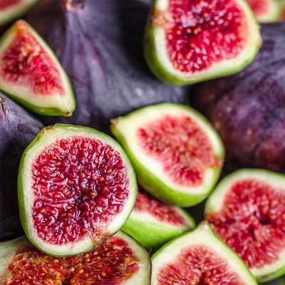 Figs are the fruit of the fig tree (Ficus carica).