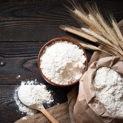 All-purpose flour is a type of highly processed white flour, most commonly used for baking, preparing desserts, and as a thickening-agent for gravies.