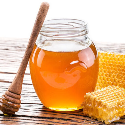 Honey is a sweet and viscous food obtained from bees.