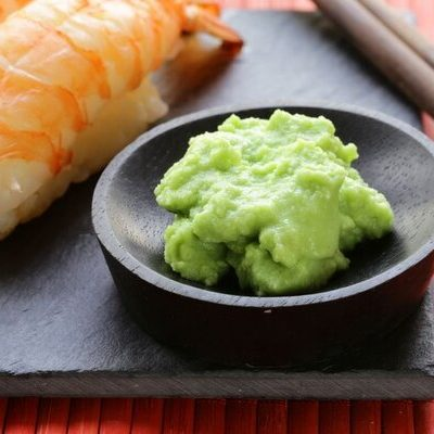 Wasabi is a plant belonging to the mustard and horseradish family