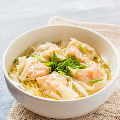 Wontons are a type of dumpling of Chinese origin.