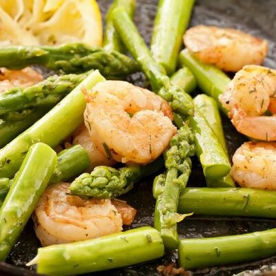 Asparagus (Asparagus officinalis) is a perennial flowering plant species of the Asparagaceae family.