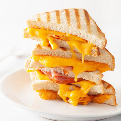 The grilled ham and cheese sandwich is a classic sandwich, which is simple to prepare.