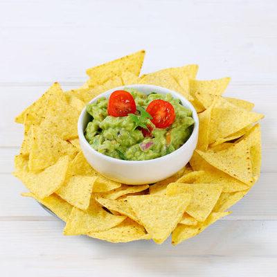 Guacamole is a dip or spread of Mexican origin.