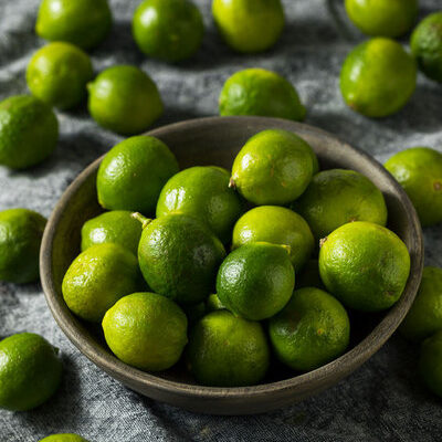 Key lime (citrus aurantifolia) is a species of lime, also known as Mexican lime, West Indian lime, Omani lime, and bartender's lime.