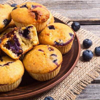 Muffins refer to baked goods made from butter, sugar, eggs, milk, and flour.