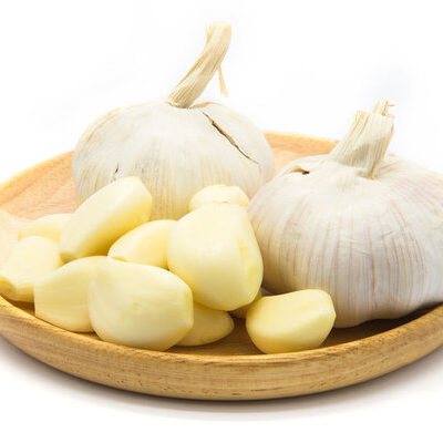 Garlic is an herb that is closely related to onions, leeks, and shallots.