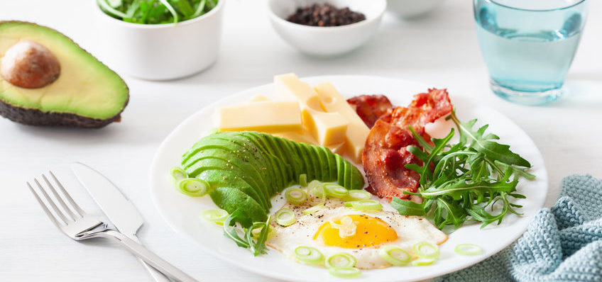A keto diet refers to a diet of minimal carbs and high amounts of fat.