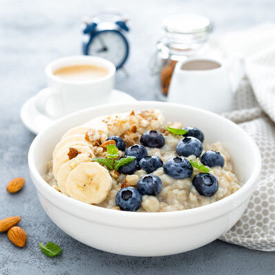 Oatmeal is a coarse flour meal obtained from milled (ground) or steel-cut hulled oat grains (groats).