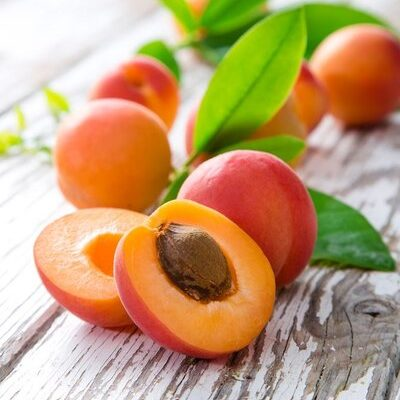 An apricot (Prunus Armeniaca) is a small, yellowy-orange fruit of the Rosaceae stone fruit family.