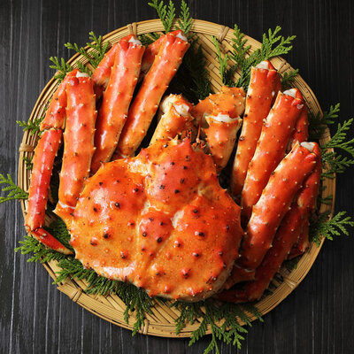 King Crab is a type of seafood that belongs to the Lithodidae family of crustaceans.