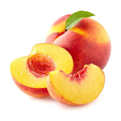 Nectarine is a type of peach which does not have fuzz.