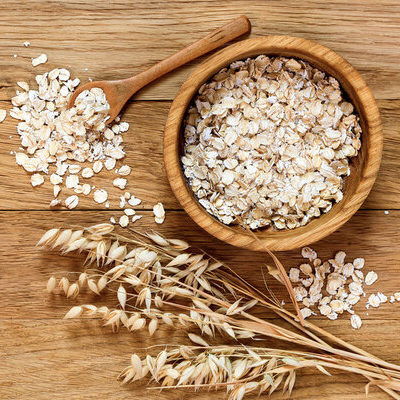 Oats (Avena sativa) are a cereal grain from the Poaceae grass family. The grain refers to the edible seed of this grass.