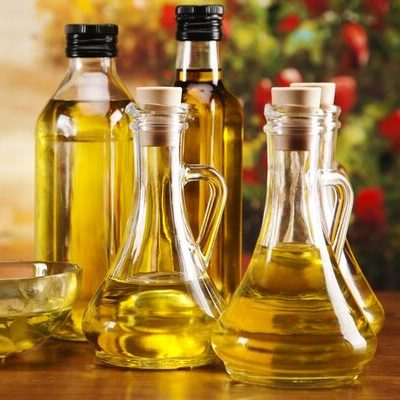 Oil is a fatty, greasy substance derived from plants or animals.