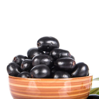 Java plum (Syzygium cumini) is a tropical evergreen tree, known for its fruit.