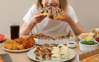 Food addiction is described as compulsive eating habits, which mimic addiction.