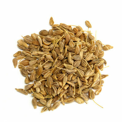 Aniseed is a spice belonging to the Apiaceae family that also includes cumin, coriander, dill, and parsley.
