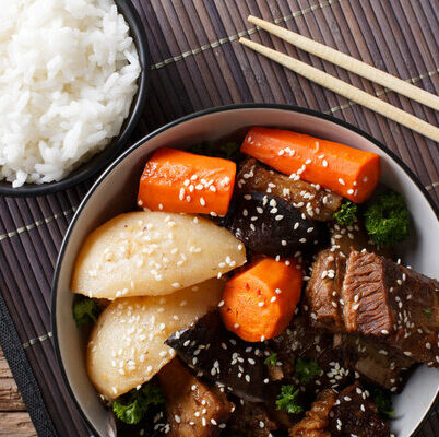 Galbi is a Korean dish that is an important part of Korean barbecue culture.